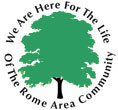 Rome Community Foundation Rome NY logo